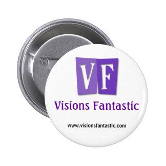 """Botón """"clásico"""" fantástico de las visiones pin redondo de 2 pulgadas"""