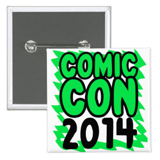 Botón cómico de la estafa 2014 pin