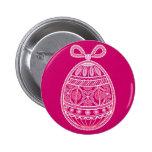 Botón con el huevo de Pascua feliz Pin