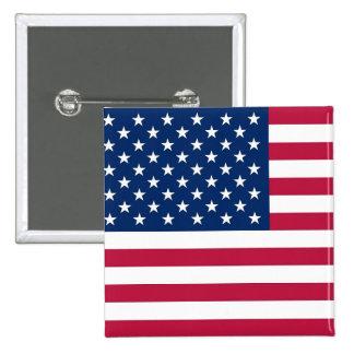 Botón con la bandera de los E.E.U.U.