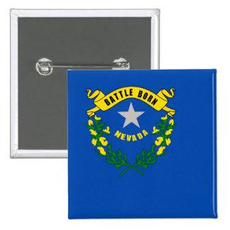 Botón con la bandera de Nevada Pins
