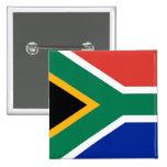 Botón con la bandera de Suráfrica Pins