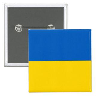 Botón con la bandera de Ucrania Pins