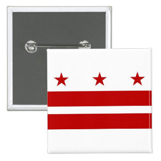 Botón con la bandera del Washington DC
