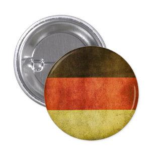 Botón con la bandera sucia de Alemania Pins