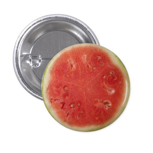 Botón con sabor a fruta del verano pin