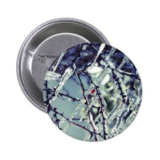 Botón congelado de la baya pin