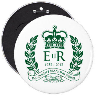 Botón conmemorativo del jubileo de diamante pin