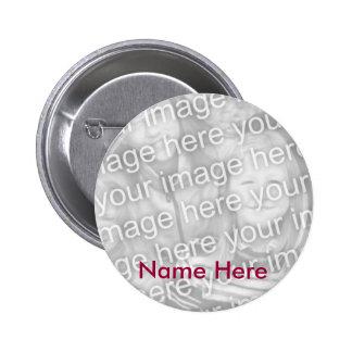 Botón conmemorativo personalizado de la foto pin