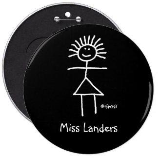 Botón conocido de la etiqueta del profesor diverti pin