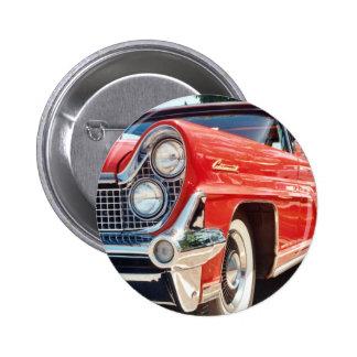Botón convertible continental 1959 de Lincoln Pin Redondo De 2 Pulgadas