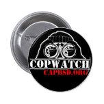 botón copwatch2 pin redondo de 2 pulgadas