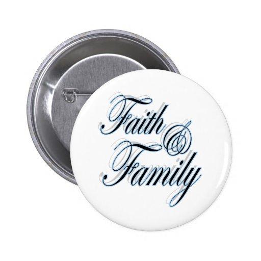 Botón cristiano del regalo de la fe de la fe y de  pin