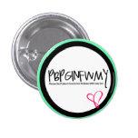 "Botón cristiano ""PBPGINFWMY "" Pins"