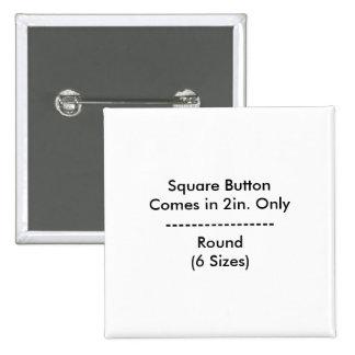 Botón cuadrado de DIY Pin Cuadrado
