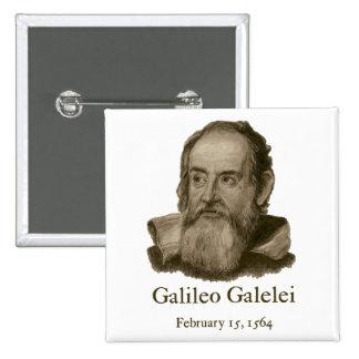 Botón cuadrado de Galileo Pins
