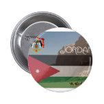 Botón cuadrado de Jordania