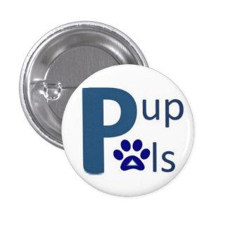 Botón cuadrado de PAL del perrito Pins