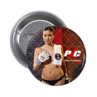 Botón de Abby Pin Redondo De 2 Pulgadas