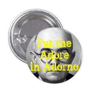 Botón de Adorno Pin Redondo De 1 Pulgada
