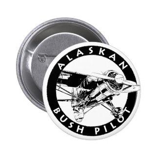 Botón de Alaska del piloto de Bush Pin Redondo De 2 Pulgadas