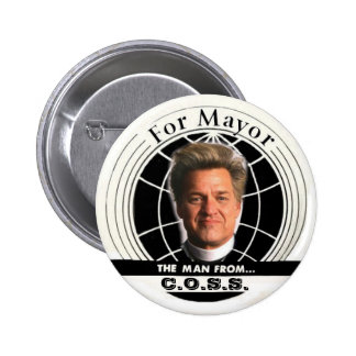 Botón de alcalde Billy Talen de 2009 NYC Pin Redondo De 2 Pulgadas