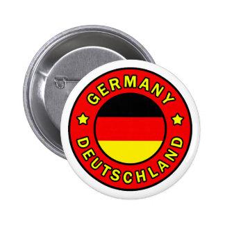 Botón de Alemania Pin Redondo De 2 Pulgadas