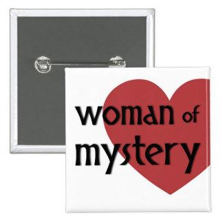 Botón de Alternity: Mujer del misterio Pin