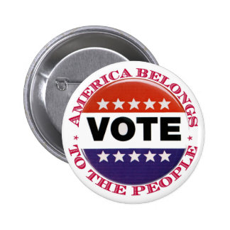 Botón de América del voto