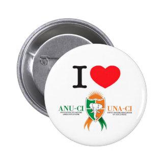 Botón de ANU-CI Pin Redondo De 2 Pulgadas