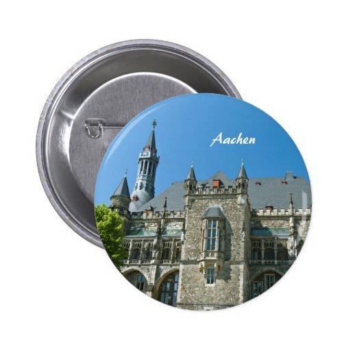 Botón de Aquisgrán Pin