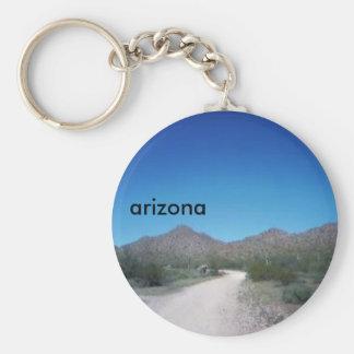 Botón de Arizona Llavero Redondo Tipo Pin