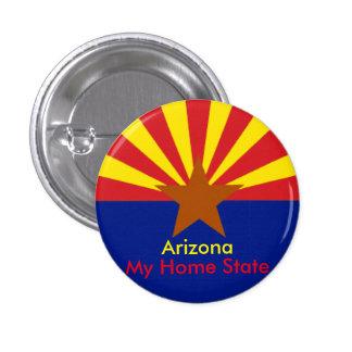 Botón de Arizona Pin Redondo De 1 Pulgada
