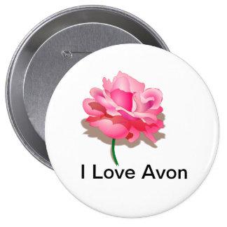 Botón de Avon para Representitives Pin Redondo De 4 Pulgadas