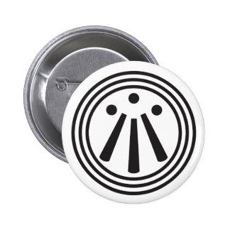 Botón de Awen Pin Redondo De 2 Pulgadas