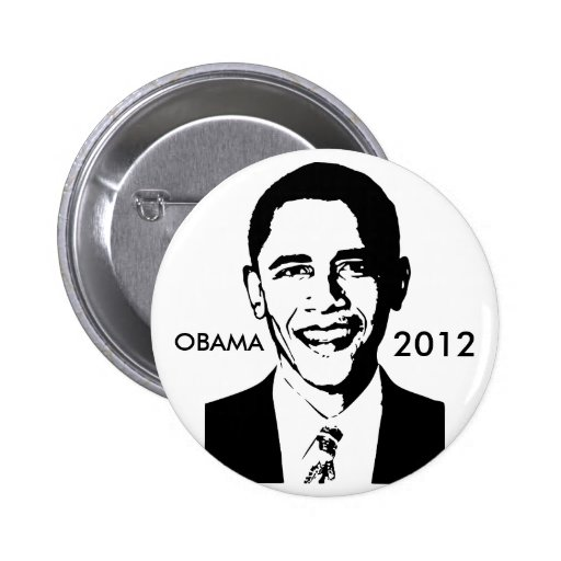 Botón de Barack Obama 2012