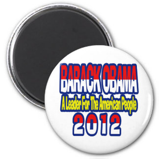Botón de BARACK OBAMA 2012 de la AYUDA Imán Redondo 5 Cm