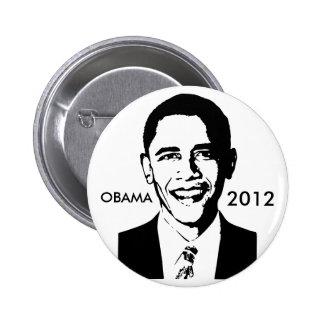 Botón de Barack Obama 2012 Pin