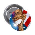 Botón de Barack Obama Pin Redondo De 2 Pulgadas