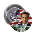 Botón de Barack Obama Pins