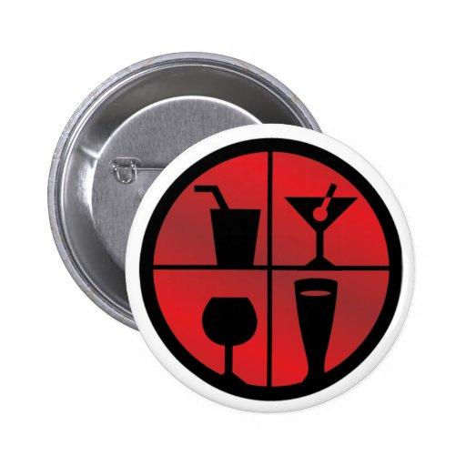 botón de BarFanatic.com - 2 1/4 adentro Pin Redondo De 2 Pulgadas