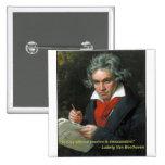 """Botón de Beethoven """"a jugar sin la pasión """""""