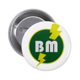Botón de BestMan Pin Redondo De 2 Pulgadas