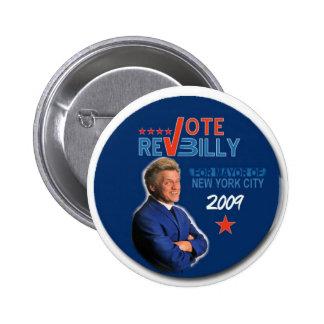 Botón de Billy reverendo Pin