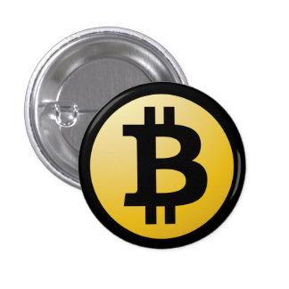 Botón de Bitcoin Pin Redondo De 1 Pulgada