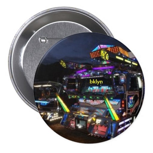 Botón de BKLYN TOKIO TEKTRUCK Pins