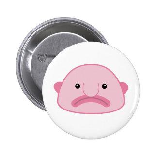 Botón de Blobfish Pin Redondo De 2 Pulgadas