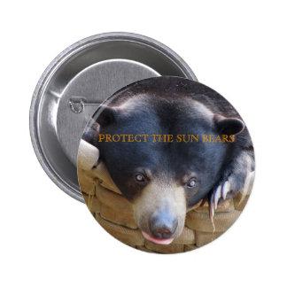 Botón de Bulan del oso de Sun