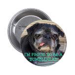 Botón de Bumblesnot: Orgulloso ser Bumblehead Pin