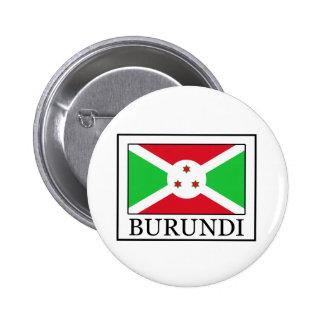 Botón de Burundi Pin Redondo De 2 Pulgadas